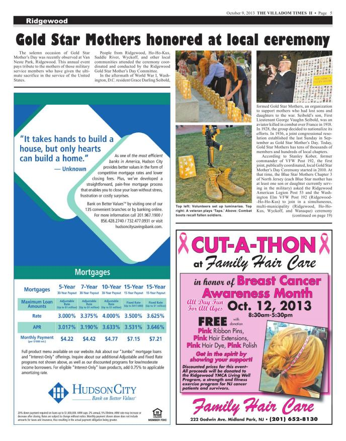 Villadom Times Weekly Newspaper Online - October 9, 2013 Issue