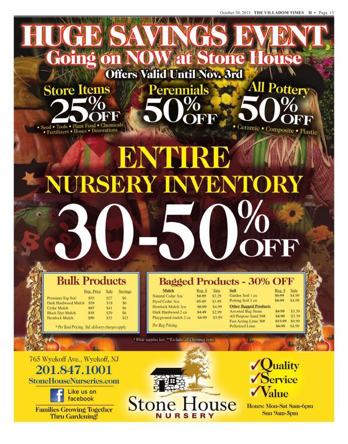 Villadom Times Weekly Newspaper Online - October 30, 2013 Issue