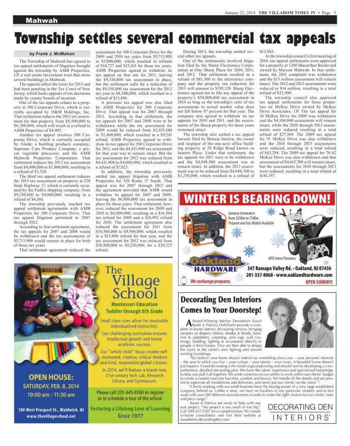Villadom Times Weekly Newspaper Online January 22 2014 Issue